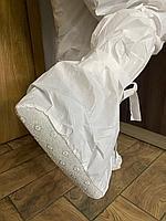 Защитные бахилы (высокие) с противоскользящей подошвой
