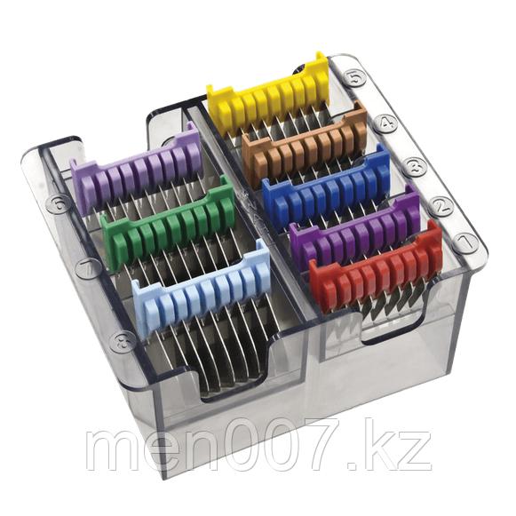 Набор металлических насадок Wahl 1233-7050 для машинок 1230, 1400, ChromStyle, 8 шт