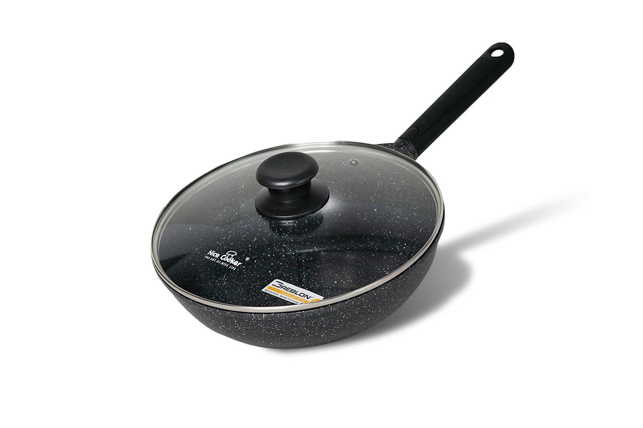 Wok-сковорода Nice Cooker Pallas Seires 28x8,5 см 3,8 л