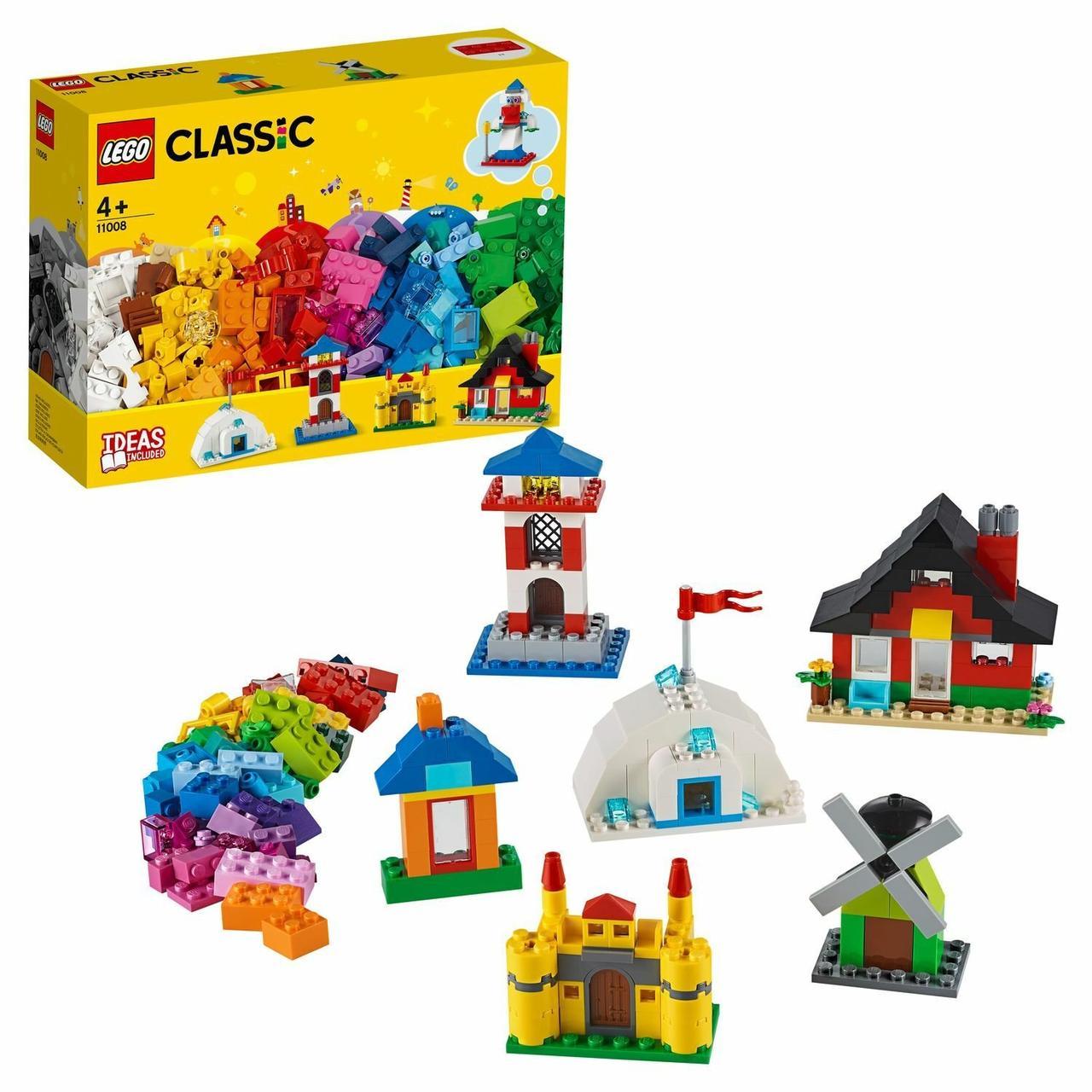 Конструктор LEGO Classic Кубики и домики 11008