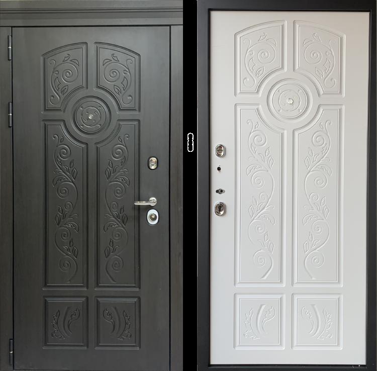 Уличная металлическая дверь Лено
