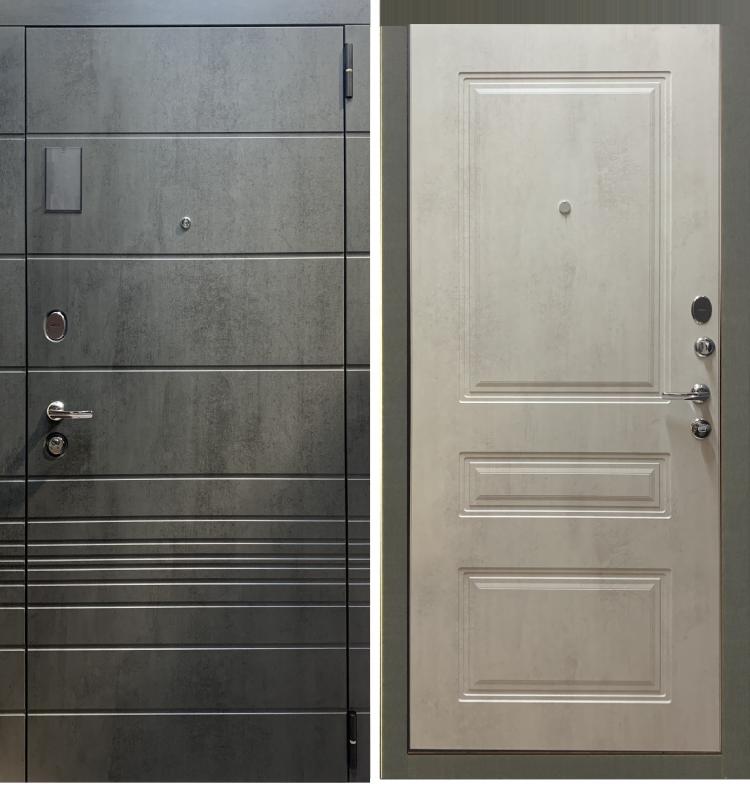 Металлическая дверь в квартиру Сан-Пьер