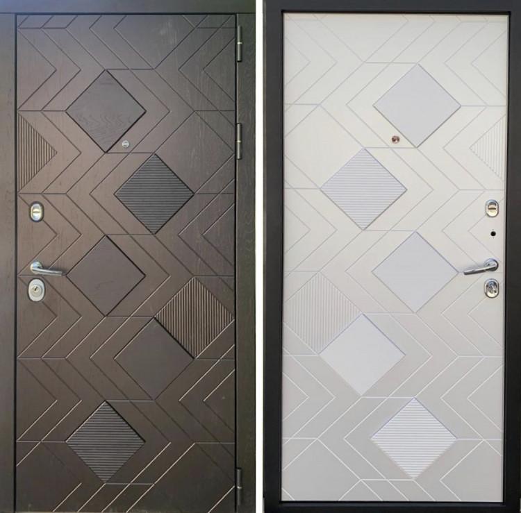 Уличная металлическая дверь Каскад