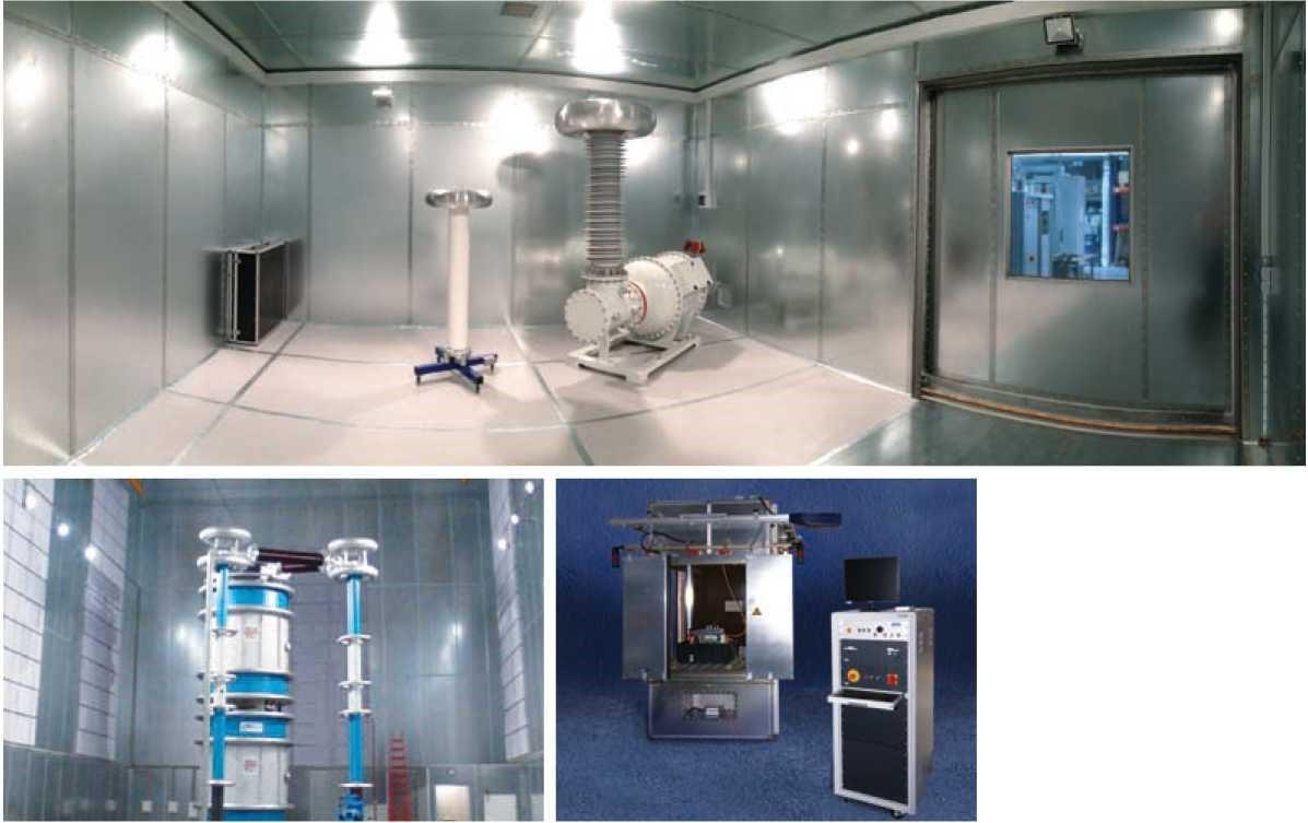 Экранированные помещения / Экранированные испытательные боксы / Абсорбционные камеры