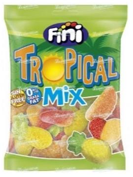 Жев.мармелад Тропический фруктовый  Микс Tropical mix 100гр  /FINI Испания/ (12шт - упак)