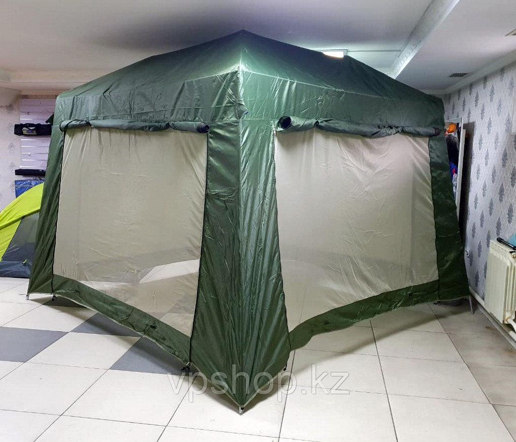 Металлический каркасный шатер 1628B 320х320х245 см, доставка