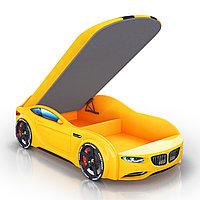 Кровать-машинка Romack Junior Желтый