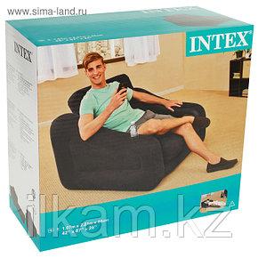 Кресло-трансформер надувное ,INTEX, 107 х 221 х 66 см, фото 2
