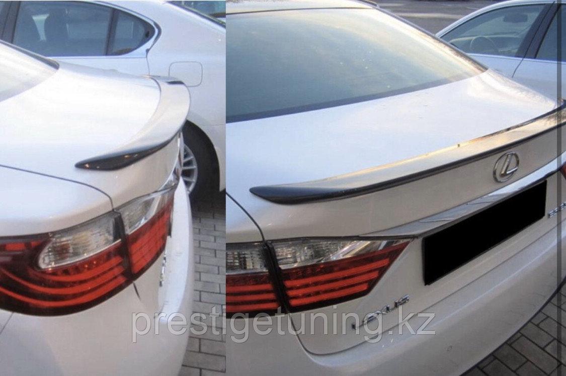 Спойлер на багажник на Lexus ES 2015-18
