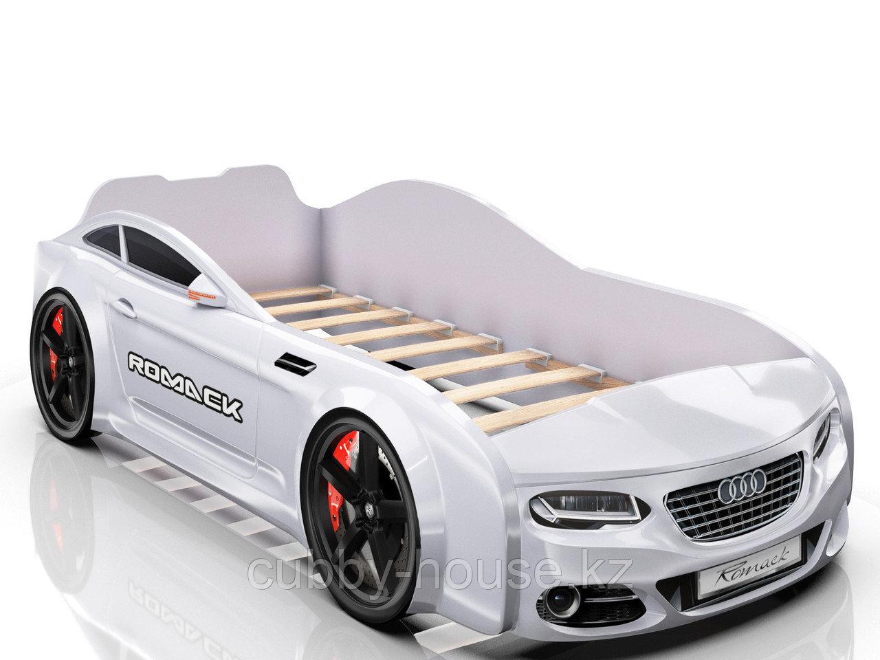 Кровать-машинка Romack Real