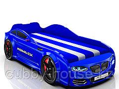Кровать-машинка Romack Real Синий