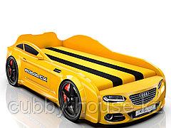 Кровать-машинка Romack Real Желтый