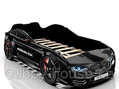 Кровать-машинка Romack Real Черный
