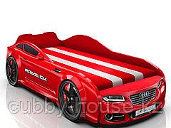 Кровать-машинка Romack Real Красный