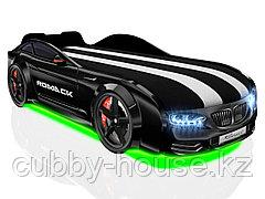 Кровать-машинка Romack Real-M Черный
