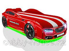 Кровать-машинка Romack Real-M Красный