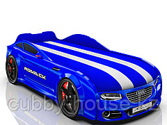 Кровать-машинка Romack Real-M Синий