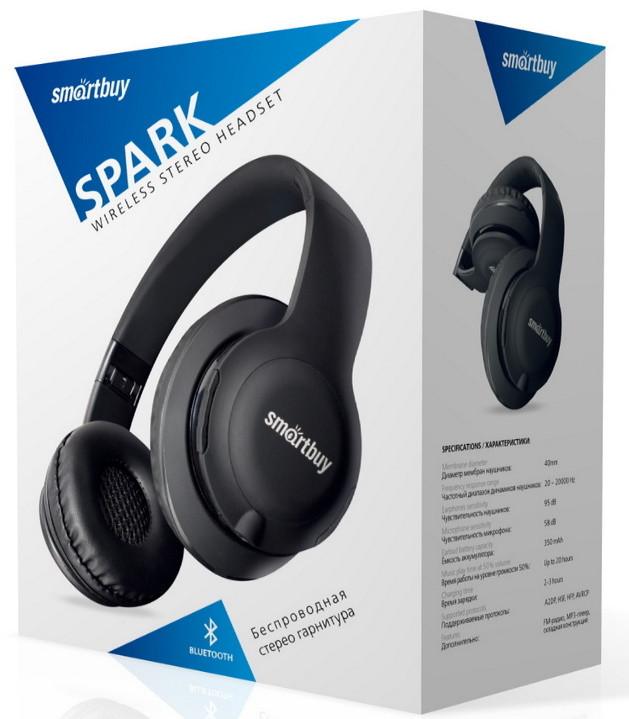 Полноразмерная Bluetooth-гарнитура Smartbuy SPARK SBH-7040/SBH-7045