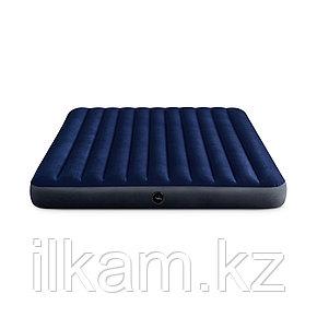 Матрас надувной Intex 203 х 183 х 25, фото 2