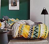 Люксовый двуспальный постельный комплект, фото 10