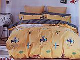 Люксовый двуспальный постельный комплект, фото 7