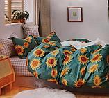 Люксовый двуспальный постельный комплект, фото 6