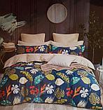 Люксовый двуспальный постельный комплект, фото 5