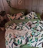 Люксовый двуспальный постельный комплект, фото 3