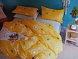 Люксовый двуспальный постельный комплект, фото 2