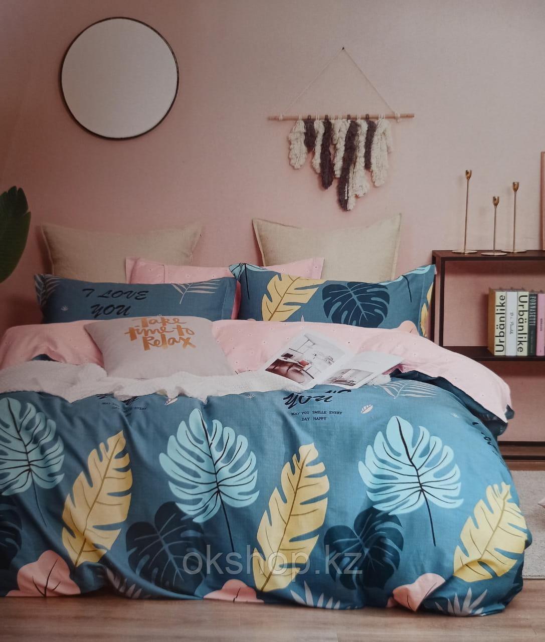 Люксовый двуспальный постельный комплект