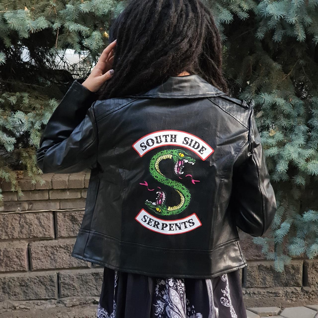 Женская кожаная куртка South Side Serpents - Riverdale
