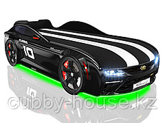 Кроватки-машинки Romack Energy-M Черный