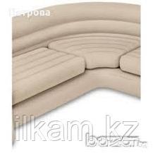 Диван надувной угловой  Intex 257 x 203 x 76 см, фото 2