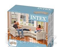 Диван надувной угловой  Intex 257 x 203 x 76 см, фото 3