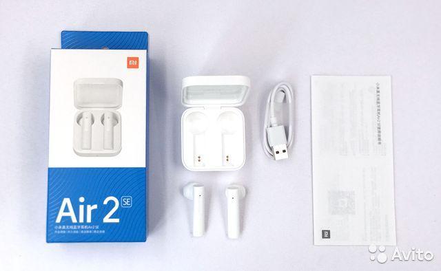 Беспроводные наушники Xiaomi Air 2SE (белый) (TWSEJ04WM)