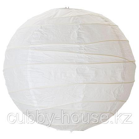 РЕГОЛИТ Абажур для подвесн светильника, белый, 45 см, фото 2