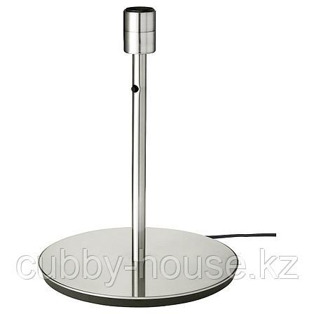 СКАФТЕТ Основание настольной лампы, никелированный, 38 см, фото 2