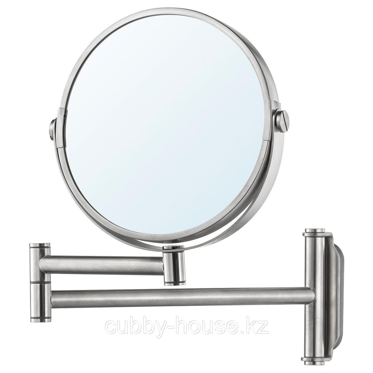 БРОГРУНД Зеркало, нержавеющ сталь, 3x27 см