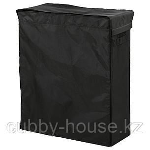СКУББ Корзина для белья на опоре, черный, 80 л, фото 2