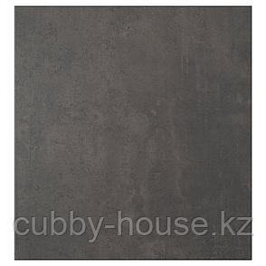 КЭЛЛЬВИКЕН Дверь, темно-серый под бетон, 60x64 см, фото 2