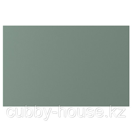 НОТВИКЕН Дверь/фронтальная панель ящика, серо-зеленый, 60x38 см, фото 2