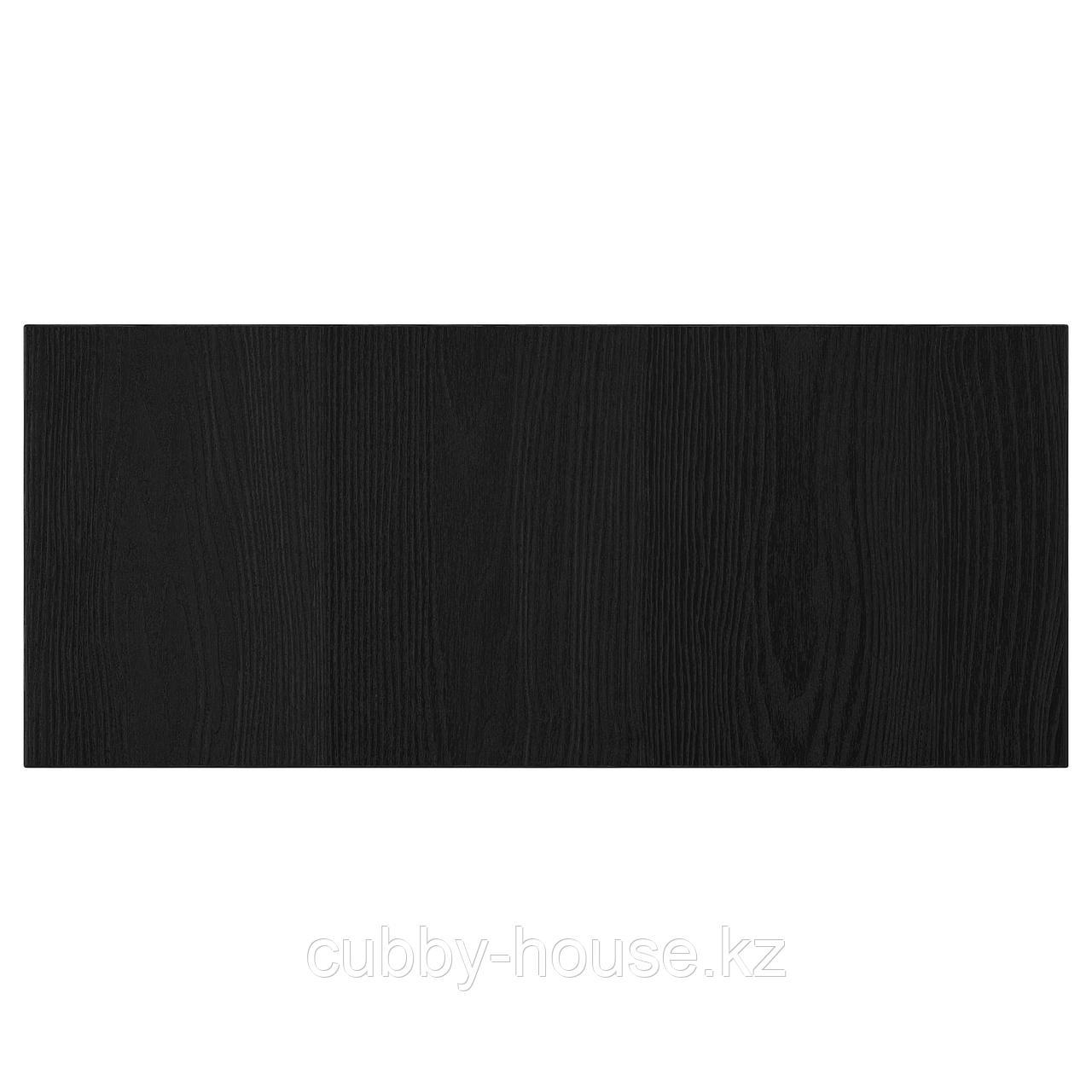 ТИММЕРВИКЕН Фронтальная панель ящика, черный, 60x26 см