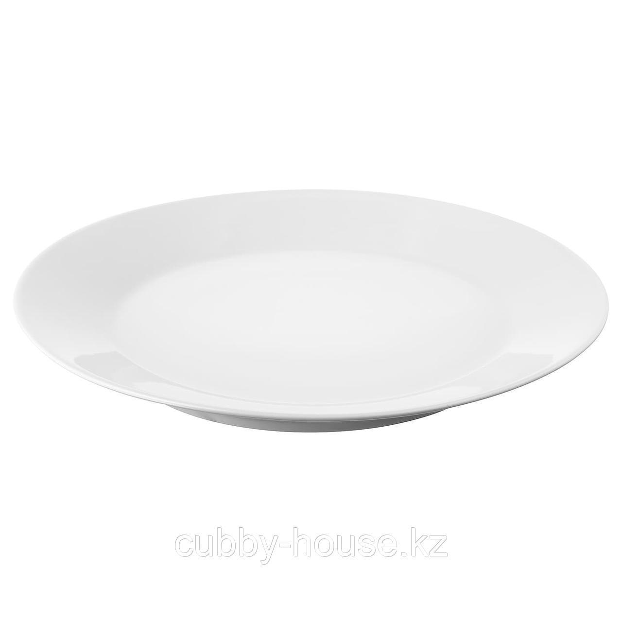 ИКЕА/365+ Тарелка, белый, 20 см