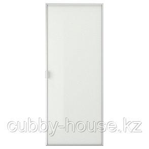 МОРЛИДЕН Стеклянная дверь, алюминий, 40x97 см, фото 2