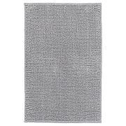 ТОФТБУ Коврик для ванной, серо-белый меланж, 50x80 см