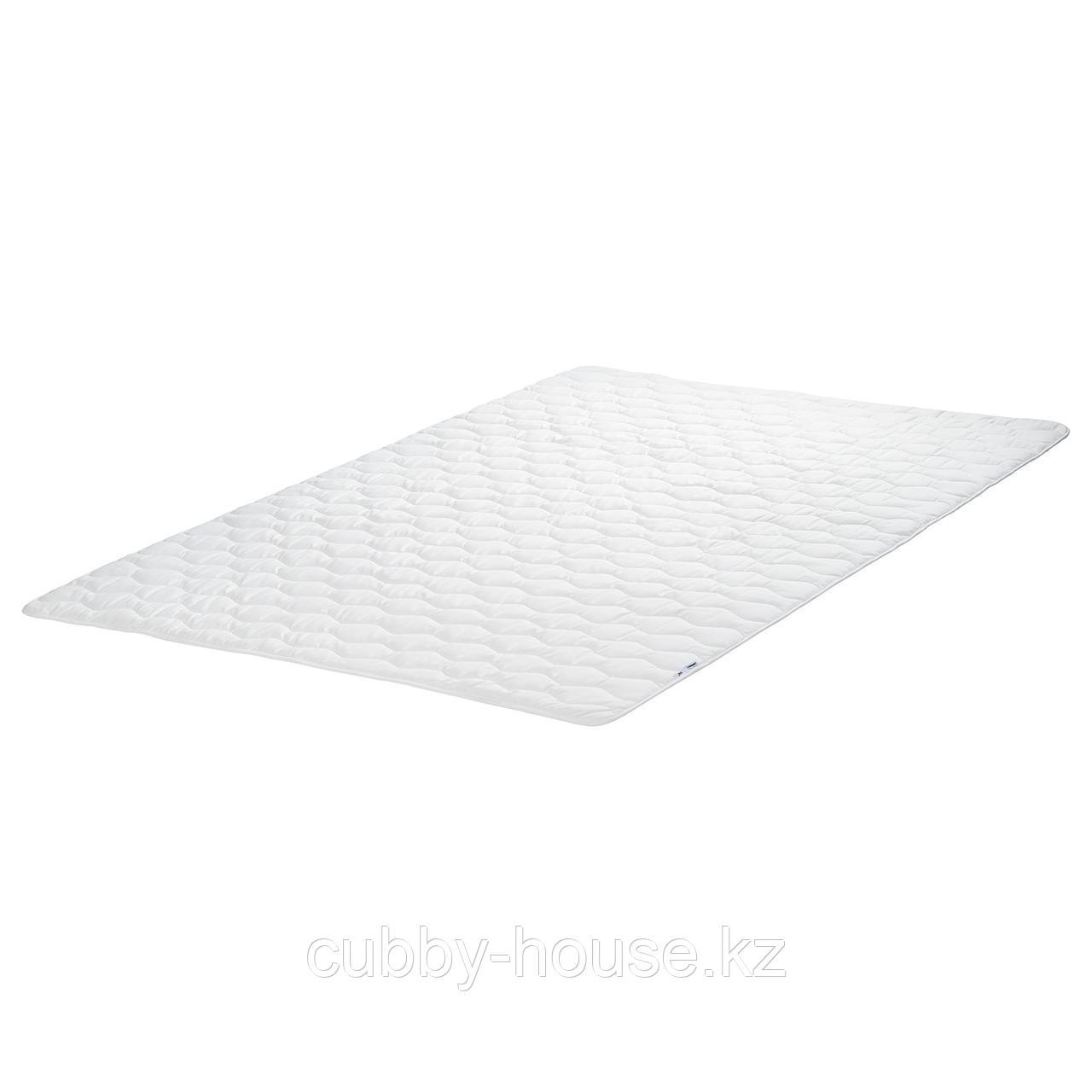 ЛИСМАРКА Тонкий матрас, белый, 180x200 см