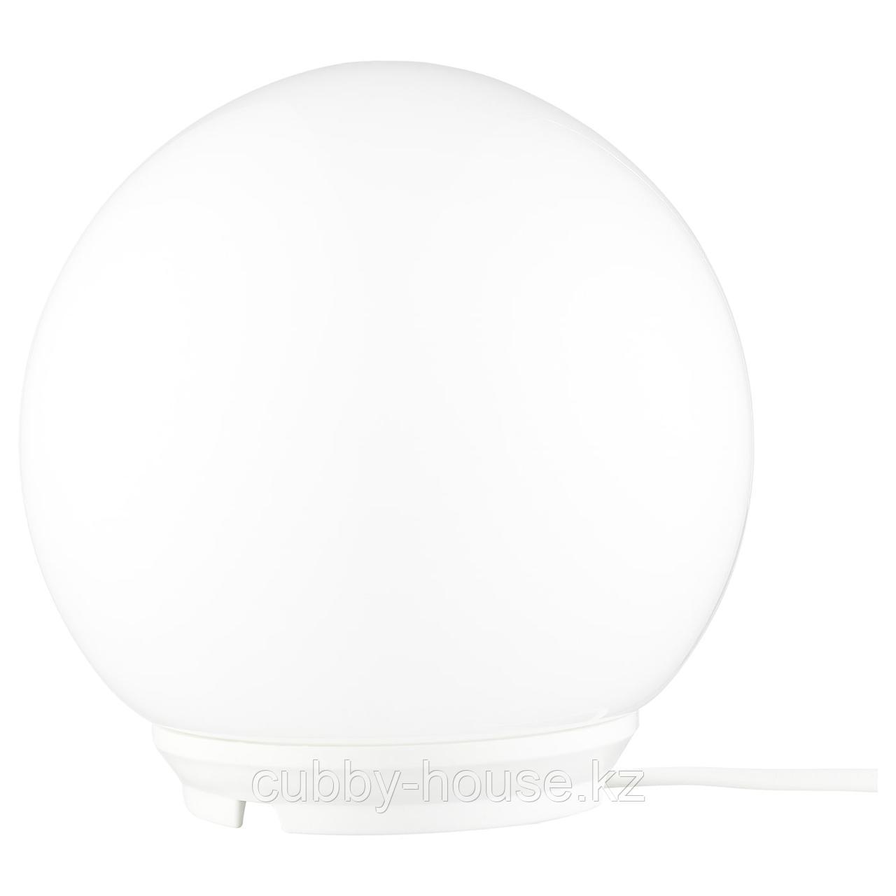 ФАДУ Лампа настольная, белый, 17 см