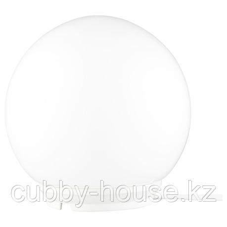 ФАДУ Лампа настольная, белый, 17 см, фото 2