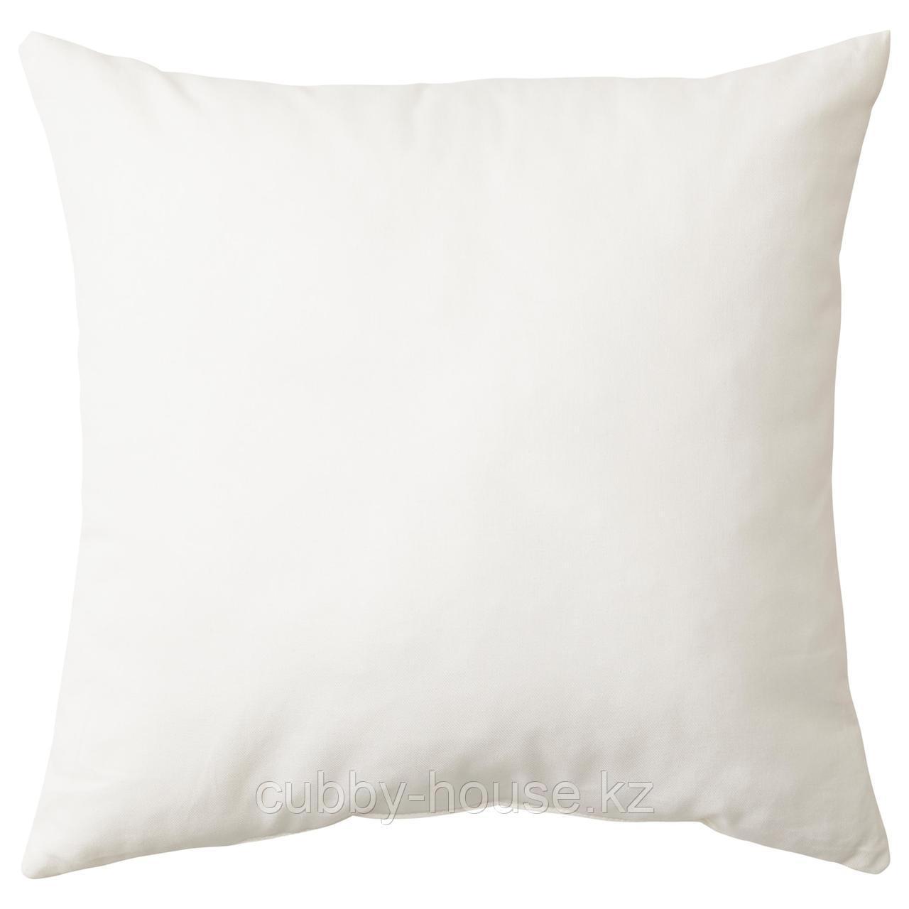 ВАЛЬБЬЁРГ Подушка, белый, 50x50 см