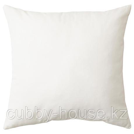 ВАЛЬБЬЁРГ Подушка, белый, 50x50 см, фото 2
